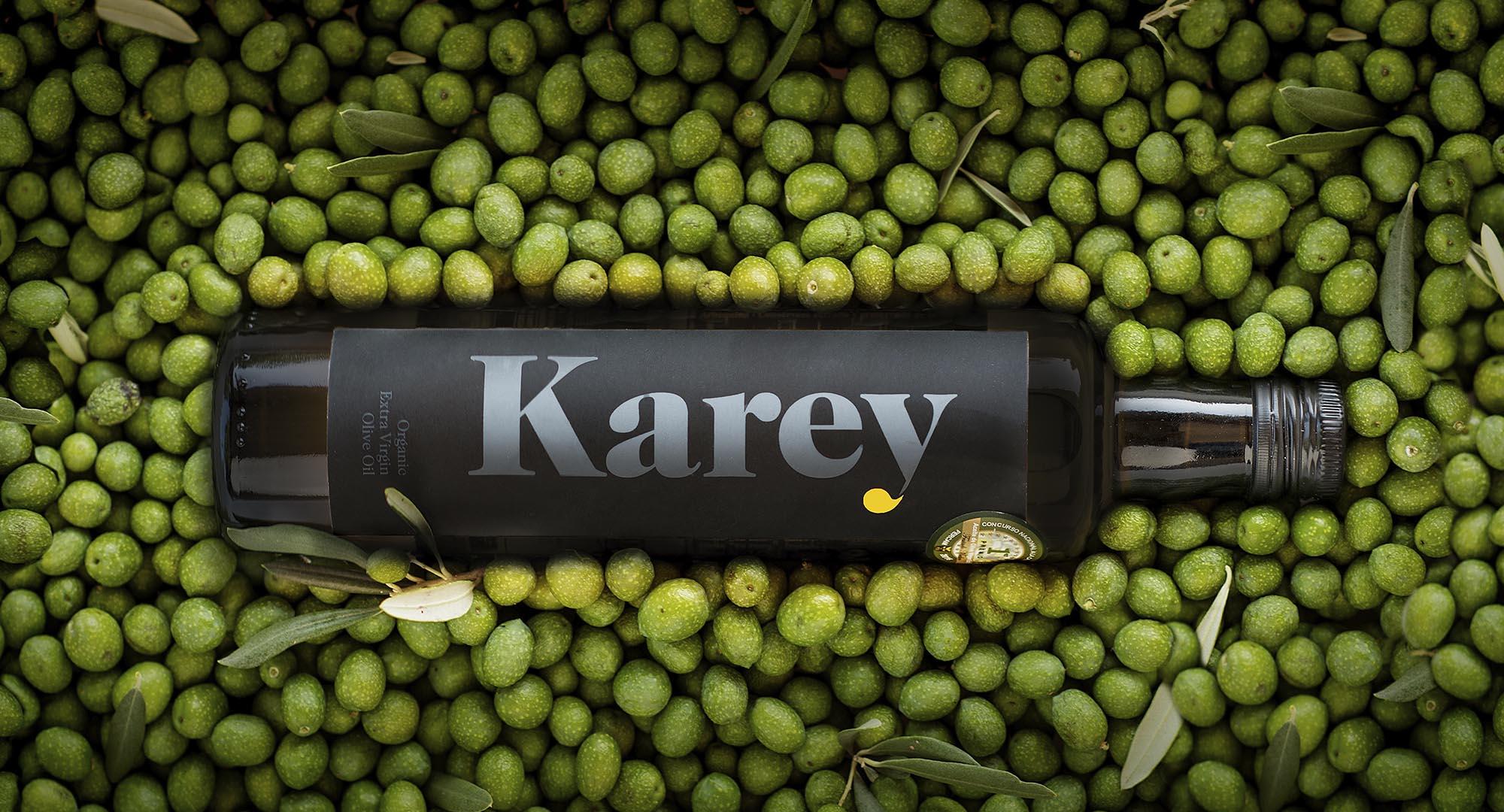Aceite Karey botella cristal
