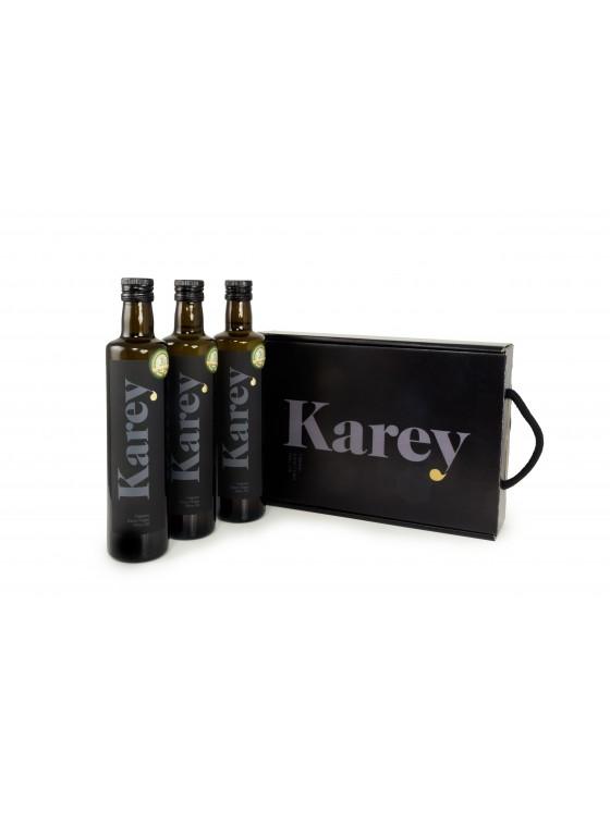 Estuche Karey 3 botellas aceite ecológico