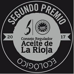 Segundo Premio Aceite Ecológico de La Rioja 2017