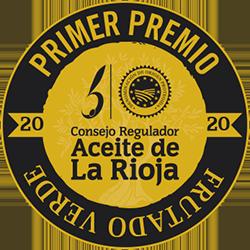 Primer premio aceite frutado verde La Rioja
